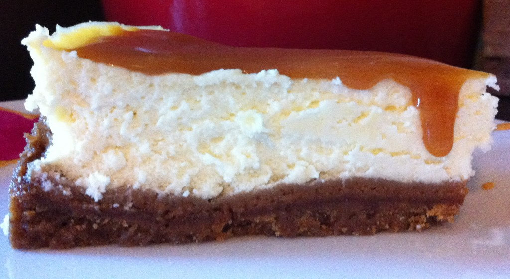cheese cake caramel