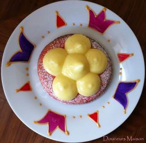 citron sablé rose