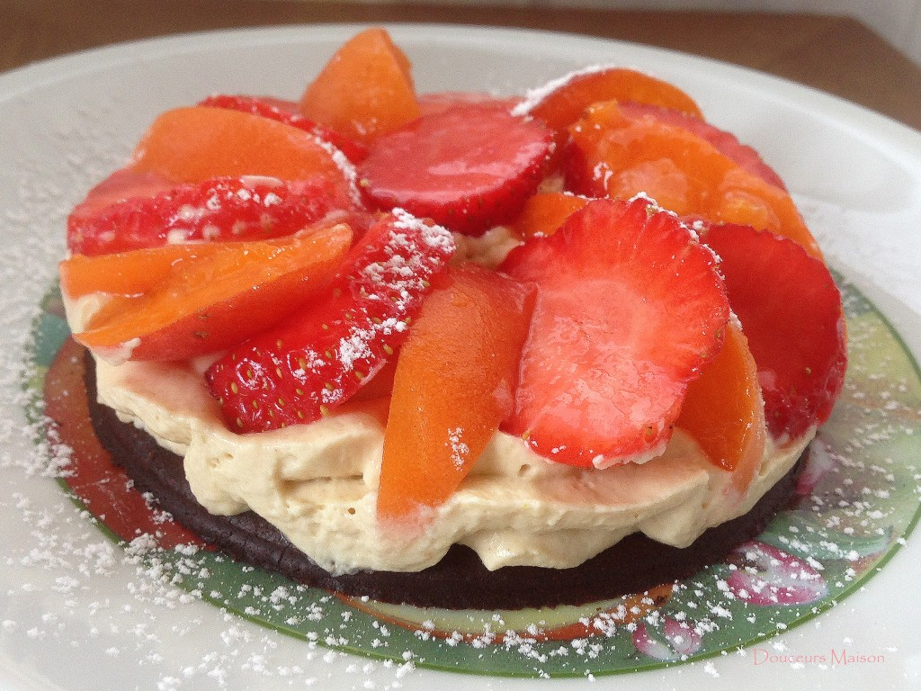 fraise abricots