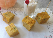 Terrine de Pois Chiche au Curry ou Curcuma