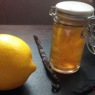 Gelée de Citrons Vanillée