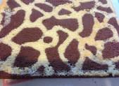 Roulé Girafe au Chocolat blanc