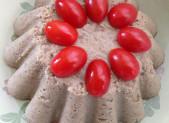 Papeton d'Aubergines et son coulis de Tomates Basilic