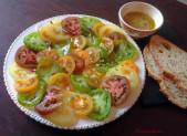 Tomates Multicolores Sauce Chèvre frais