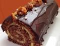 Roulé Chocolat/Agrumes façon Bûche inratable en 1 heure !