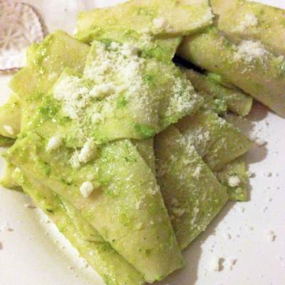 Mouchoirs de Soie au Pesto