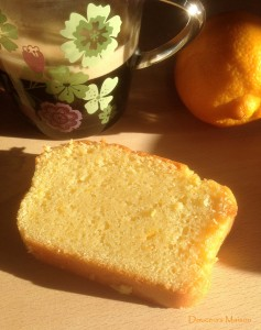 cake à la bergamotte