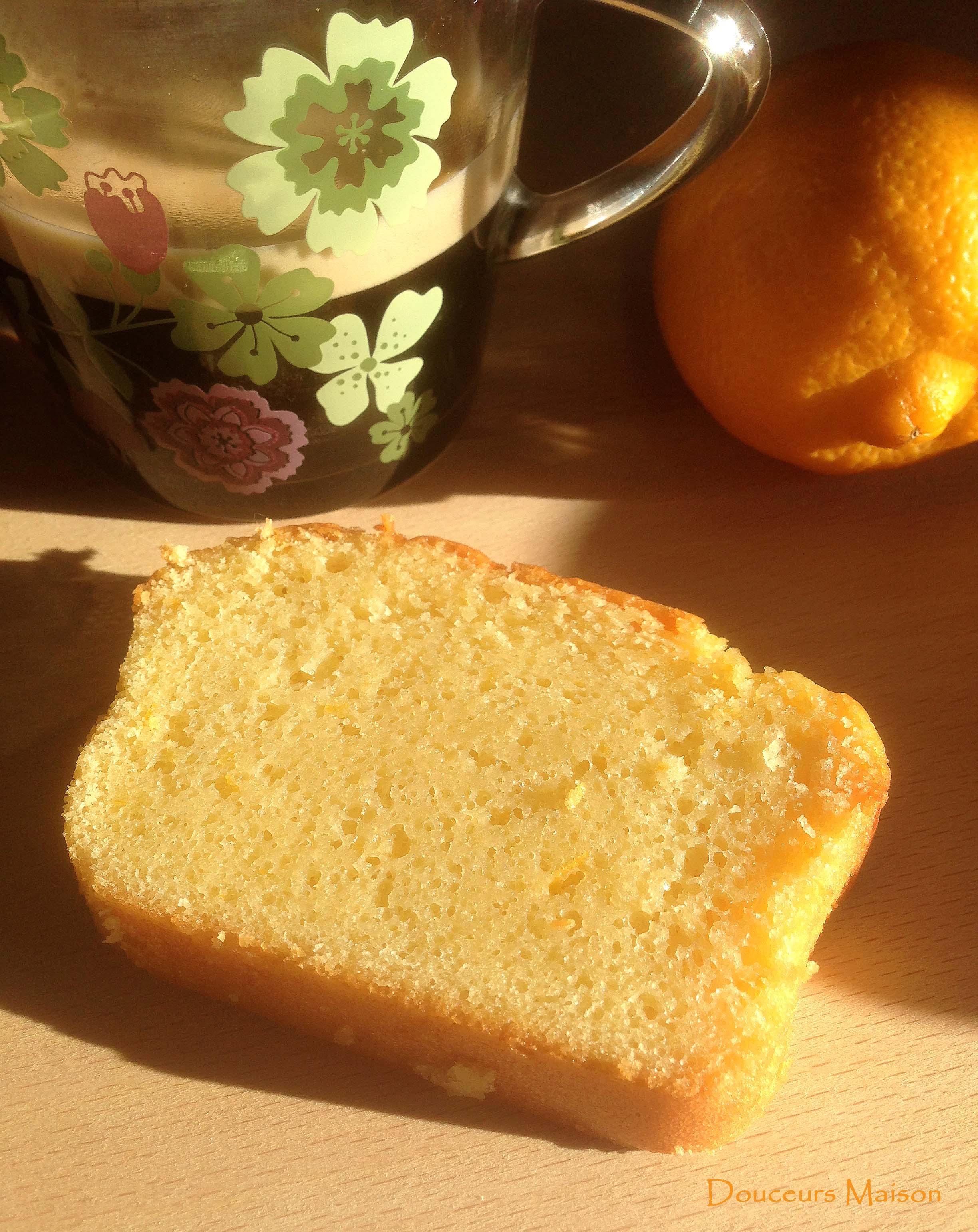Recette Cake Citron Bergamote