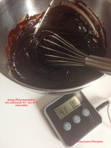 temperage chocolat mousse