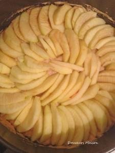 cake etape pomme