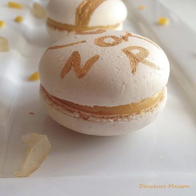 Macarons au Citron à la Meringue Italienne
