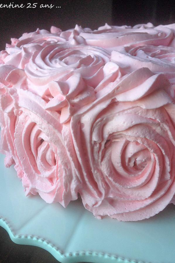 Le Gâteau d'Anniversaire de Mon enfance ! Chocolat Noix et Avalanche de crème !!