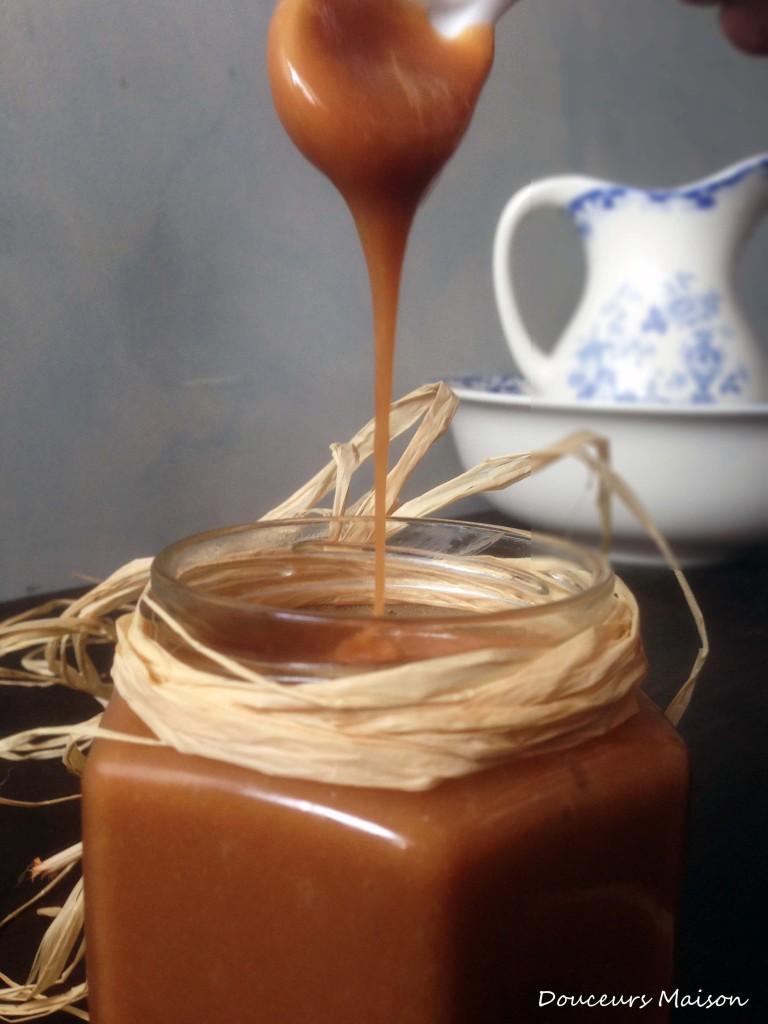 pâte à tartiner caramel cuillière