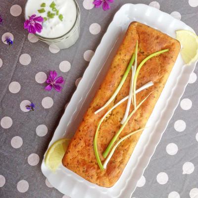 Cake Saumon Fumé Citron et yaourt 0 %