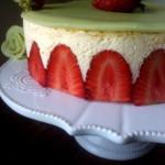 fraisier demi