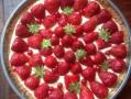 Tarte au Citron et fraises