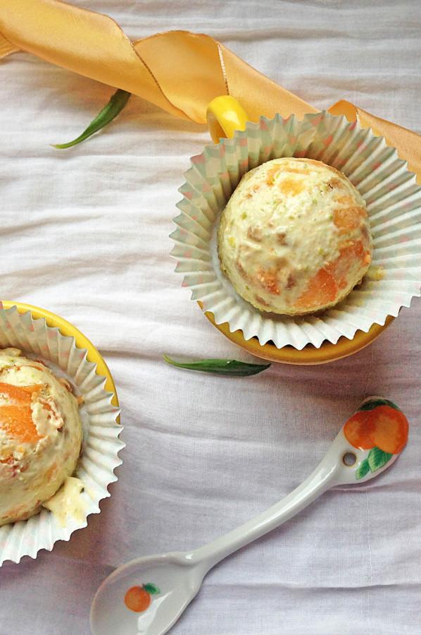 Cheesecake Givré Abricot Pistache