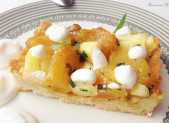 Tarte Ananas Coco Estragon