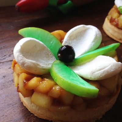 Tarte Pommes Caramel Cassis