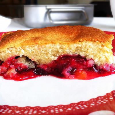 Gâteau Moelleux Miel Prunes