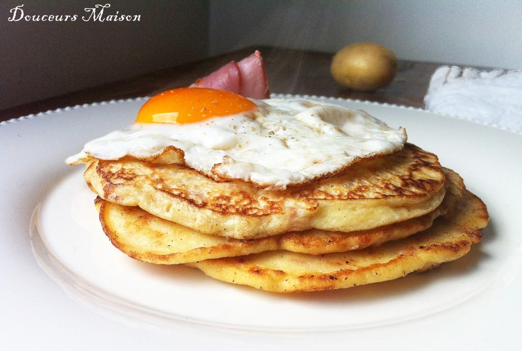 pancake de pomme de terre