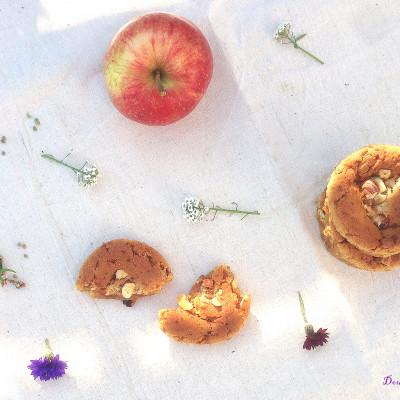 Cookies Normands Éclats de Caramel Cœur de Pomme