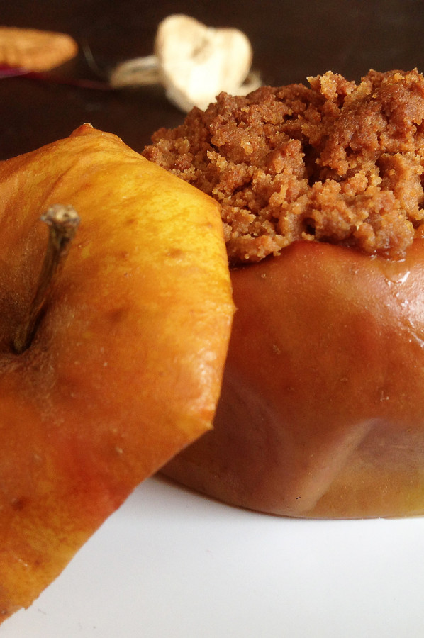 Crumble Pomme Poire Spéculoos