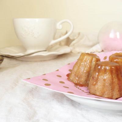 Little Pudding Noix Citron Confit et Caramel beurre Salé