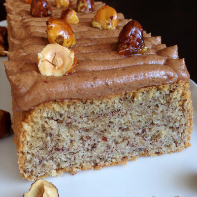Cake à la Noisette par Christophe Michalak