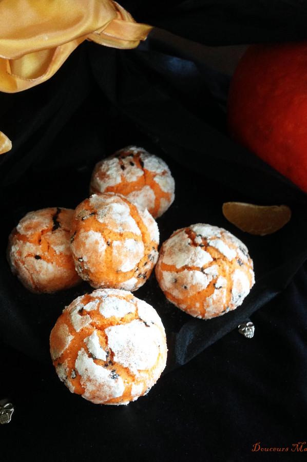 Crinkles Clémentine et Sésame noir pour Halloween