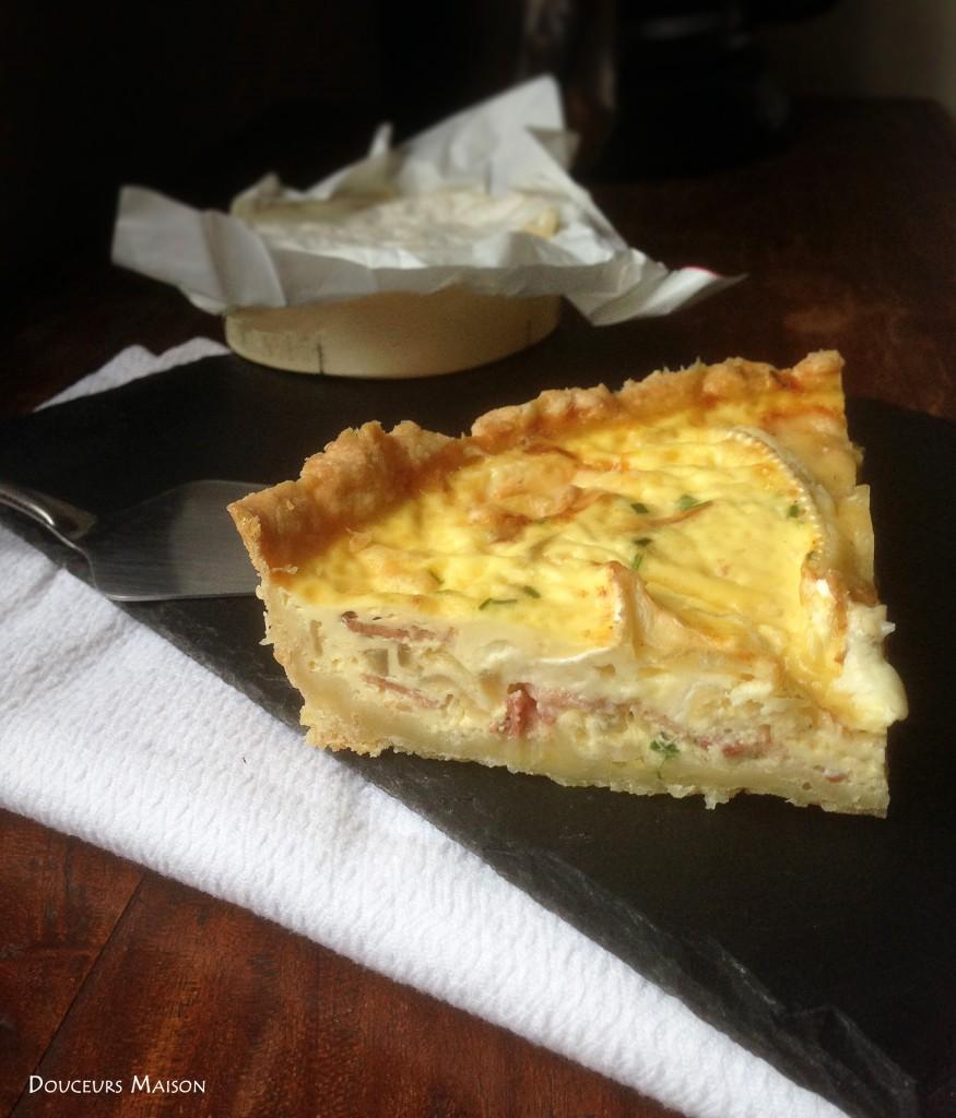 quiche au camembert 2