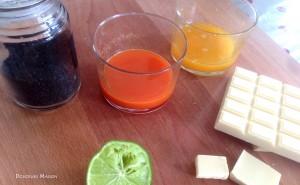 orange carotte étape 1 ingrédient