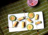 Concombre Farcis au Petit Pâté Saumon Paprika