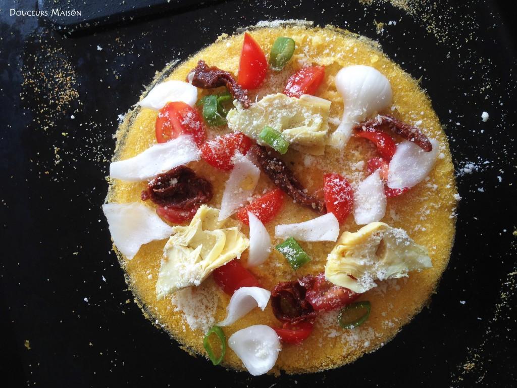 pizzalenta avant le fromage
