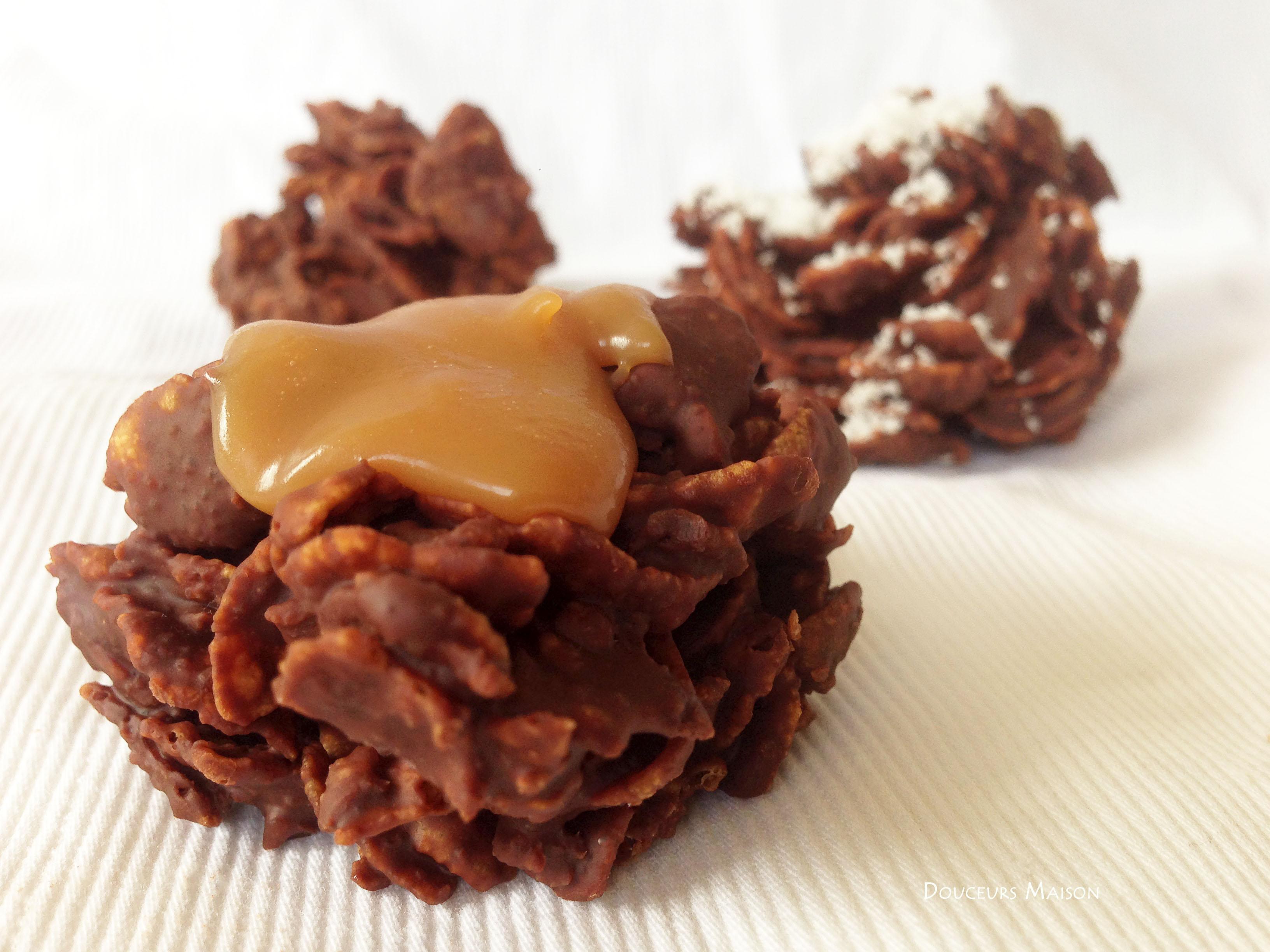 Roses Des Sables Chocolat Coco Et Caramel Douceurs Maison