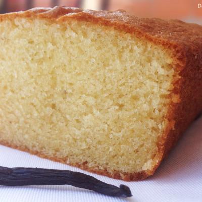 Cake Vanille à la Crème Fraîche
