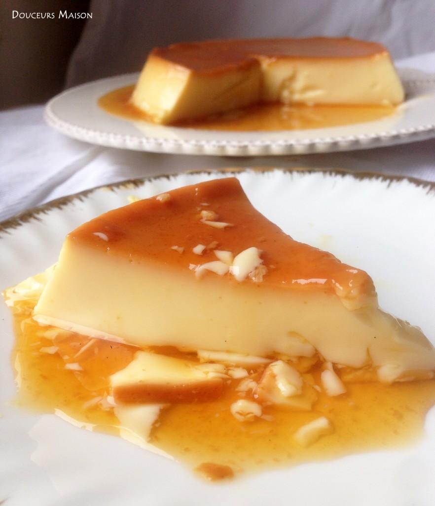crème caramel part