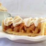 tarte au pommes gros plan