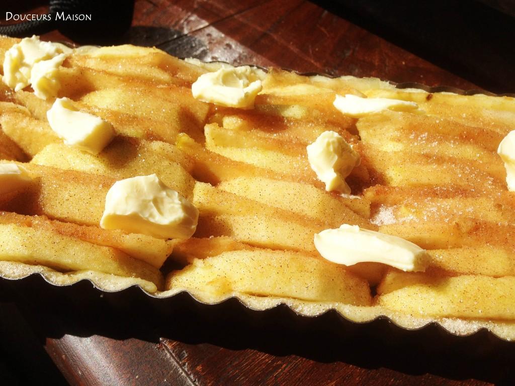 tarte aux pommes étape 2