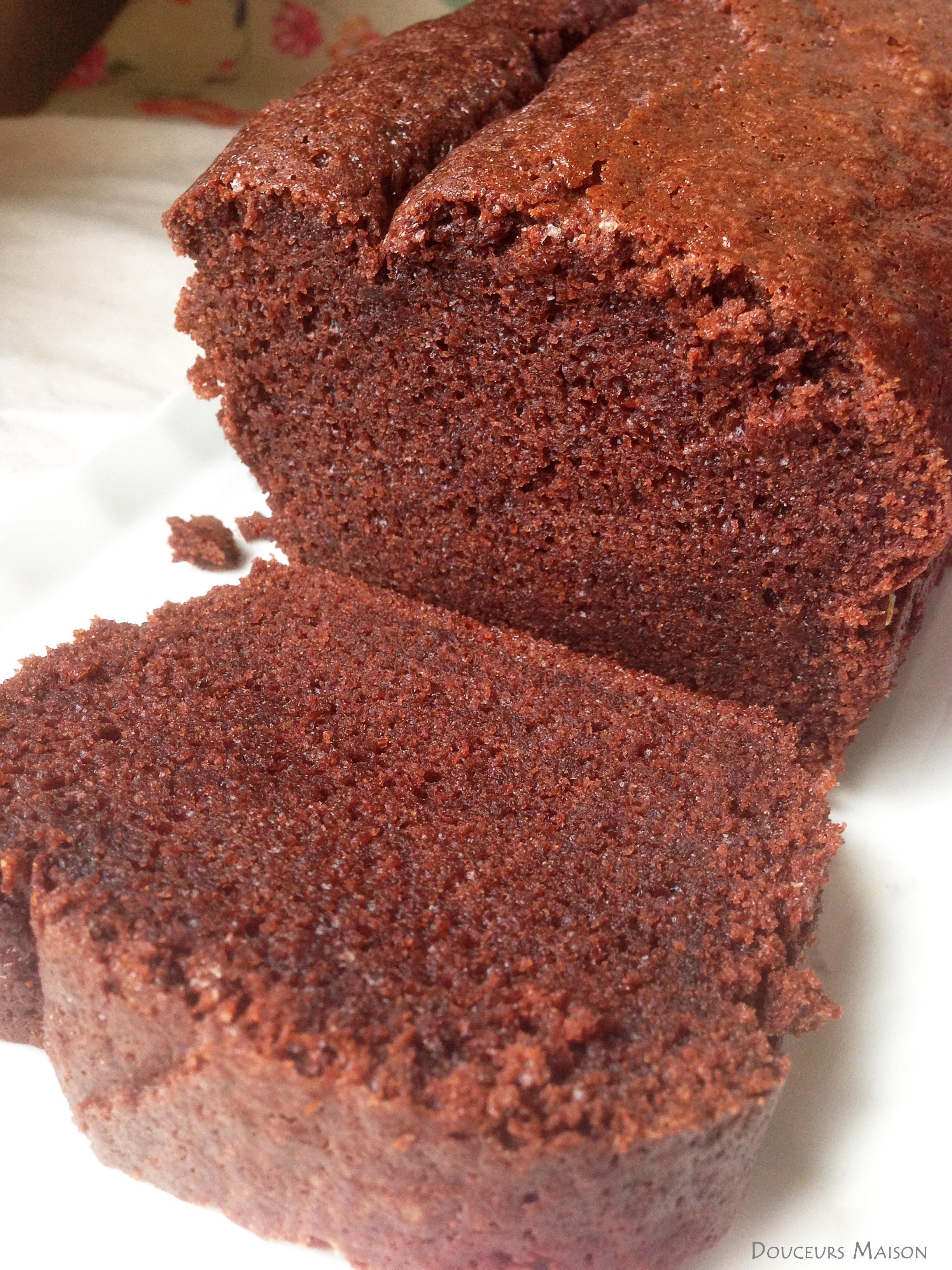 Cake Moelleux Au Chocolat Alain Ducasse Douceurs Maison