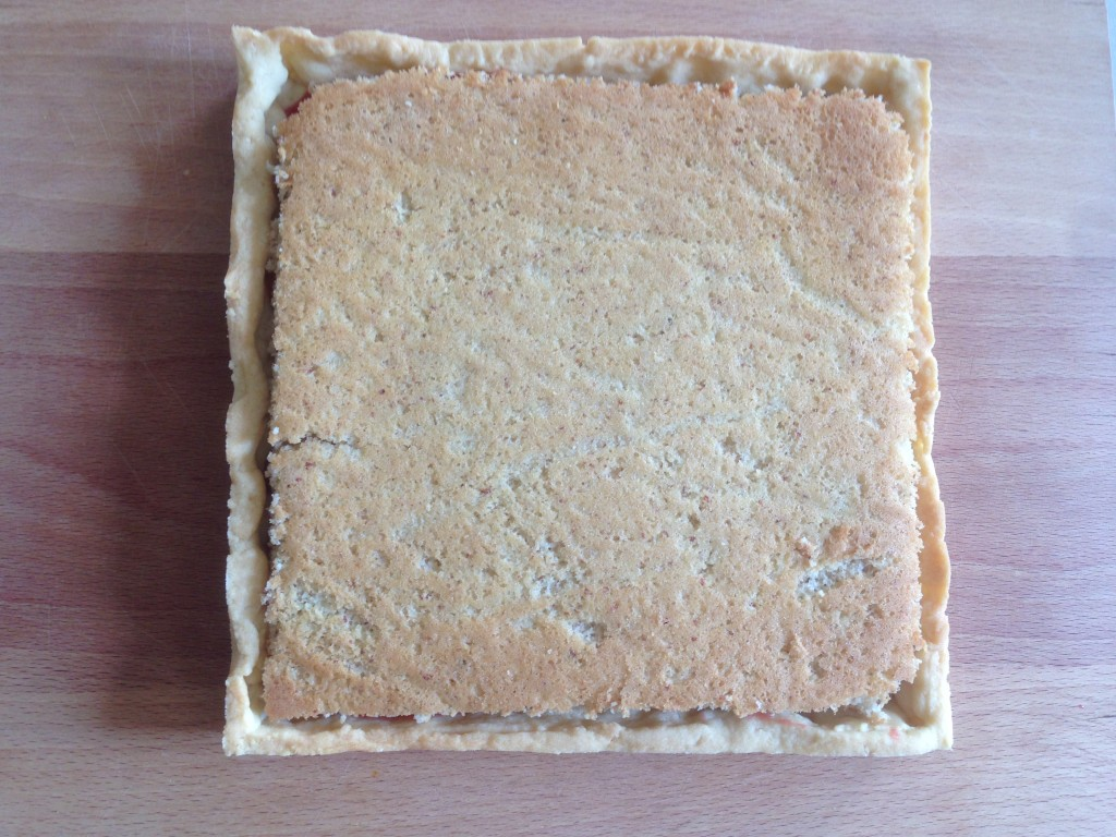 etape pain de gene sur la tarte