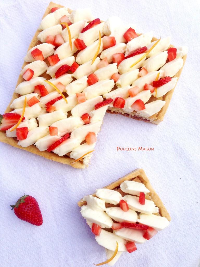 tarte fraises fleur d'oranger fp2
