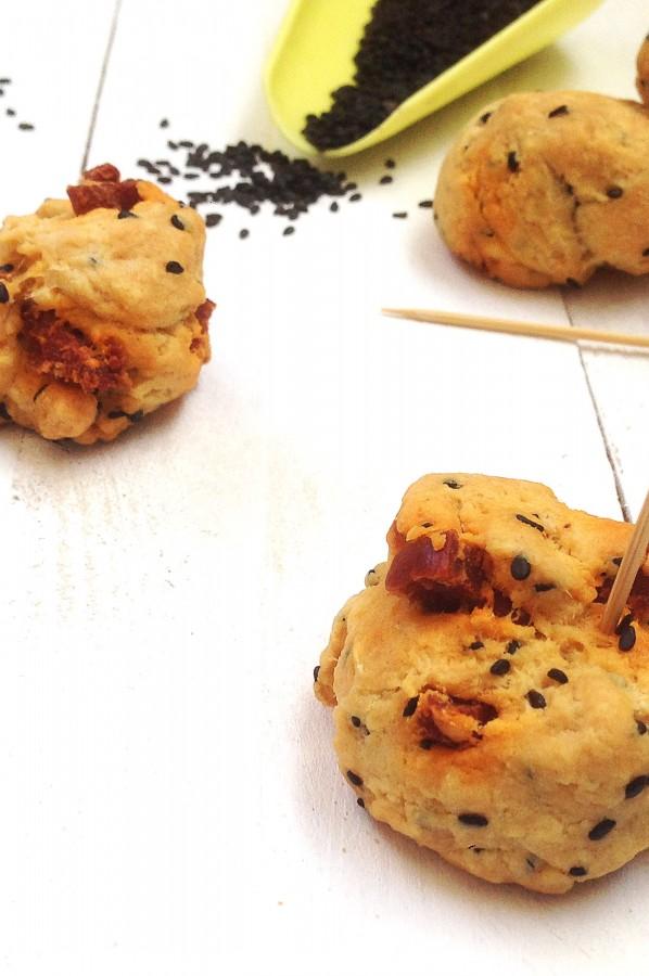 Cookies Sésame Noir Chorizo