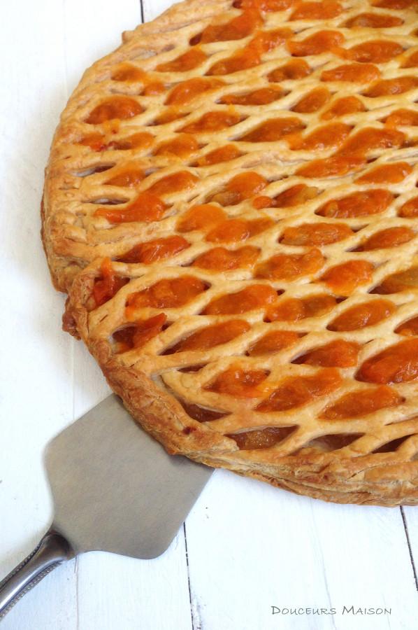 Grillé aux Pommes Abricots façon Tarte