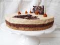 Entremet d'Automne Café Chocolat Praliné Noisette