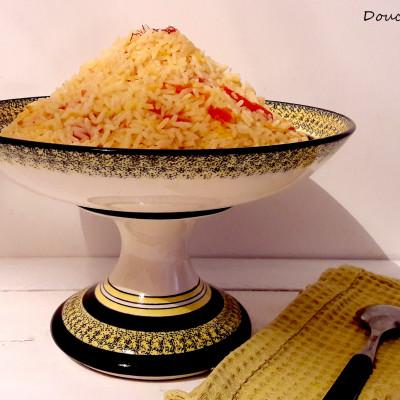 Riz au Safran Tomates