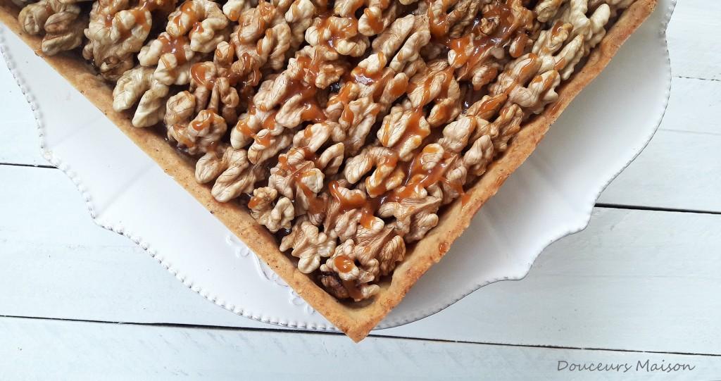 tarte aux noix en pointe
