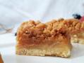 Carrés Pommes caramélisées Crumble