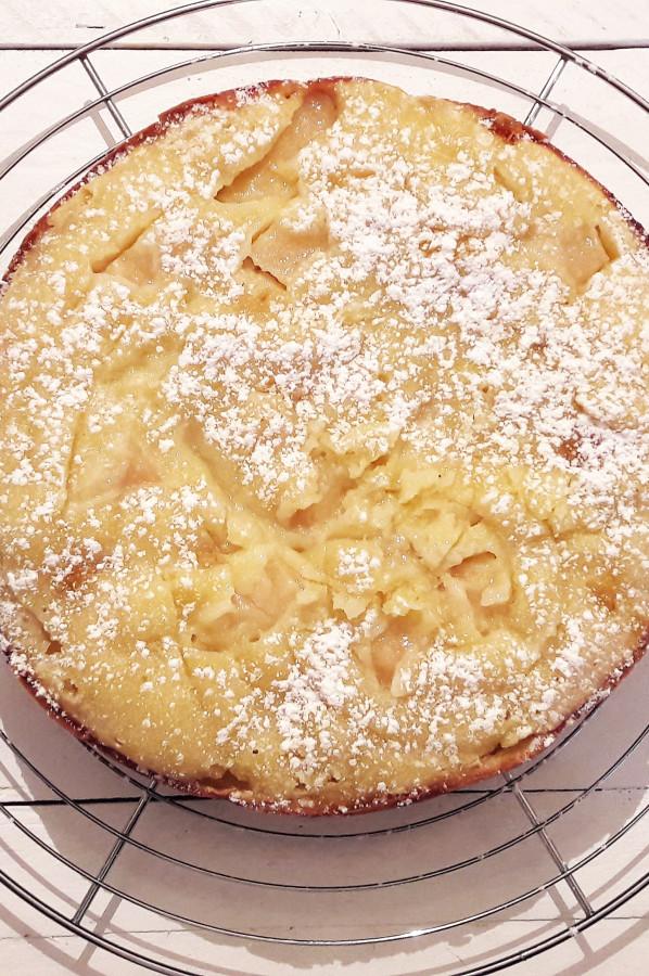 Gâteau au Yaourt Pommes Clémentines confites au Multicuiseur