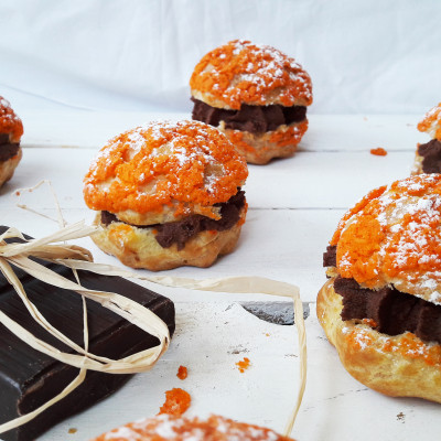 Choux Chocolat Orange